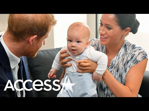 Megan Markle And Prince Harry's Son Archie Is Already 6 Months And Reaching Major Milestones
