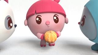 Умные песенки для самых маленьких | Малышарики - Оранжевый