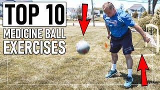 10 Best Medicine Ball Exercises For Explosiveness