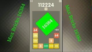 2048 Bricks High Score 131032 Max Bricks-16384