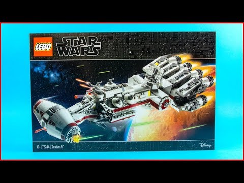 LEGO STAR WARS 75244 Tantive IV Construction Toy   UNBOXING