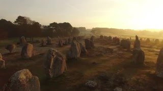 Carnac-Sunrise On The Megaliths-Kermario
