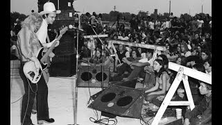 ZZ Top Live at the Country Blues Festival Memphis, TN April 10, 1971