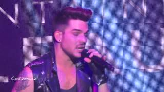 ADAM LAMBERT Is This Love? Riff & Kickin' In - BleauLIVE, Miami 11-30-13
