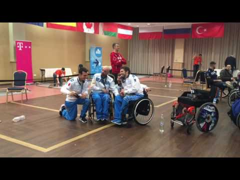 IWAS Kerekesszékes Vívó Világkupa Eger/ IWAS Wheelchair Fencing World Cup Eger 2017. február 17-19.