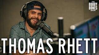 Thomas Rhett Confesses his Love For His Wife on the Bobby Bones Show