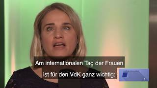 Video: VdK-Präsidentin Verena Bentele zum internationalen Frauentag