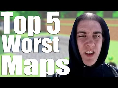 Top 5 worst zombie maps ever (ft. mrtlexify)