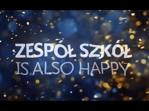Zespół Szkół im Jana Pawła II w Zdzieszowicach IS ALSO HAPPY