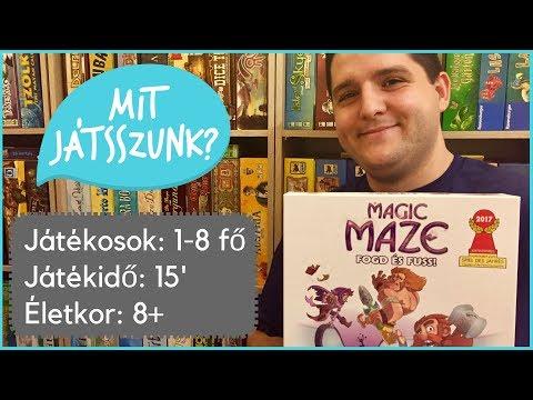 Magic Maze - Fogd és Fuss Játékbemutató - Mit Játsszunk?
