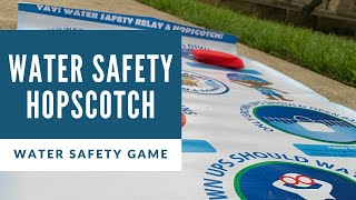 Play Water Safety Hopscotch with Colin's Hope!