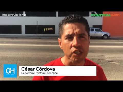 Frontera Ensenada se suma al reto #BasuraChallenge