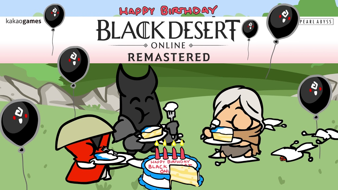 Black Desert Online Celebrates 4 Years With Collab Video