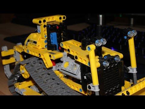 Vidéo LEGO Technic 42028 : Le bulldozer