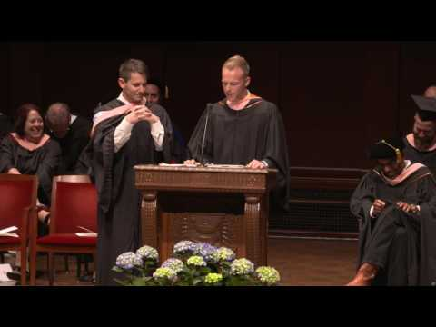 SMTD Commencement 2017: Benj Pasek & Justin Paul Address and Surprise Performance