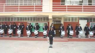 MARCHA COPA DE ORO , BANDA DE GUERRA AGUILAS DIFERENTES GENERACIONES