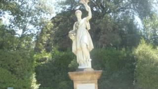 Italienischer Garten Bobili-Gärten in Florenz