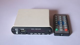 Digital video player /MP5 /FM /Bluetooth / Full HD Support