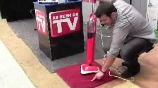 Aqualaser Demonstration Steam Mop NZ