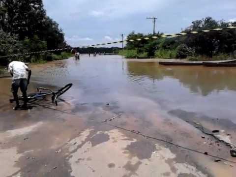 Ponto Chique - Rio São Francisco entrando na cidade 4