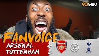 Arsenal Win The North London Derby! | Arsenal 4 2 Tottenham | 90min FanVoice