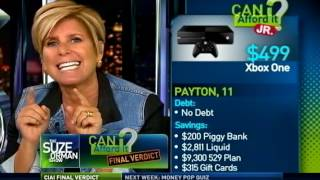 Final Verdict - Peyton's Xbox - Can I Afford It? Junior | Suze Orman