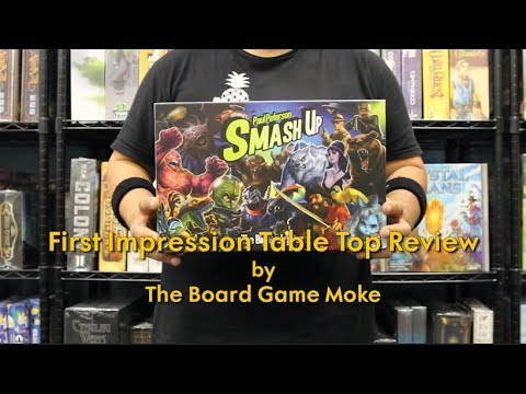 First Impression Table Top Review: Smash Up Big Geeky Box