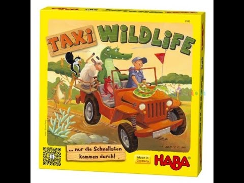 """Taxi wildlife """"Review and how to play"""" With Geekedupgaming"""