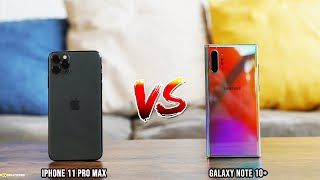 Apple iPhone 11 Pro MAX vs Galaxy Note10+: Which Should you buy?