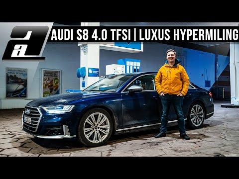 ÜBER 1100km mit EINEM Tank im Audi S8 mit V8 Bi Turbo | HYPERMILING