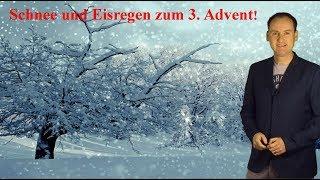 Schnee und Glätte am 3. Advent! Wie geht´s beim Wetter bis Weihnachten weiter? (Mod.: Dominik Jung)