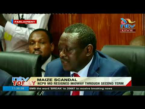 Agriculture PS Richard Lesiyampe on the report into NCPB maize scandal