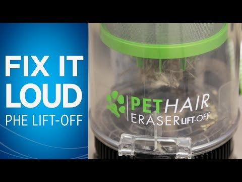 What to do if Your Pet Hair Eraser® Lift-Off® is Louder Than Normal Video