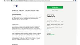 One Job Minute: Remote CSR for NexusOp