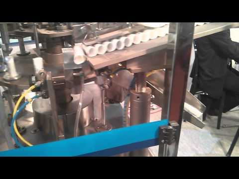 Collapsable Tube Filling Machine