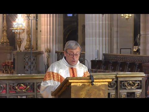 Messe à Saint-Germain-l'Auxerrois du 15 octobre 2021