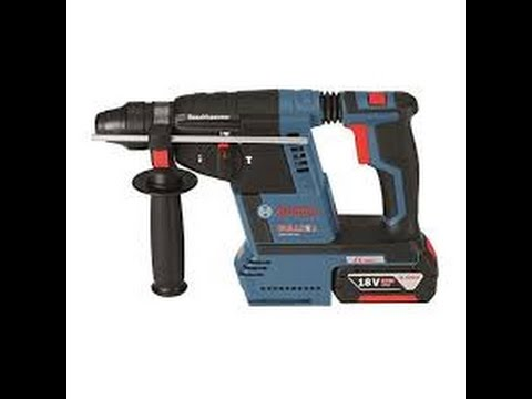 Bosch 18V 1-Inch SDS-Plus Bulldog Hammer Drill Review Model GBH18V 26