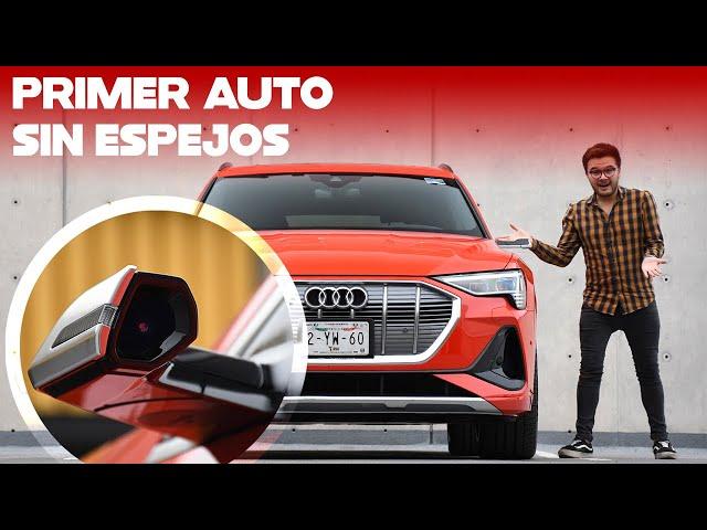 ¡El primer auto SIN ESPEJOS en México! Probamos las cámaras laterales del Audi e-tron Sportback