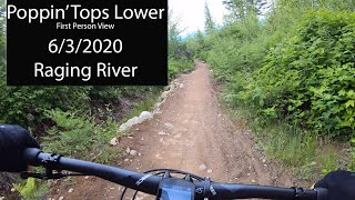 First Ride on Poppin' Tops Lower
