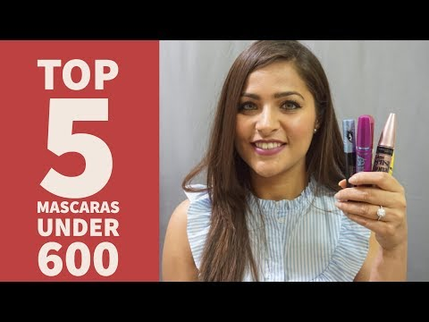5 Best Mascaras Available in India | Urban Panache