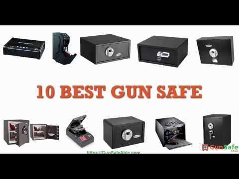 Best Gun Safe Reviews | 10 popular gun safe in USA – 2018