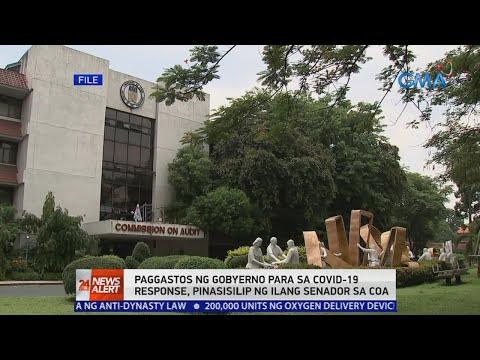[GMA]  24 Oras News Alert: Gastos ng gobyerno sa COVID-19 response, pinasisilip ng ilang senador sa COA