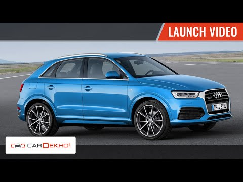 2015 Audi Q3 Launch Video | CarDekho.com