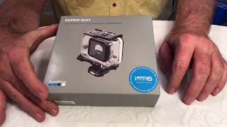 GoPro Hero 7 and GoPro Hero 6 Super Suit - Waterproof Housing - Unboxing & Review - 5 Case Diving