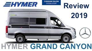 Автодом 4х4 Hymer Grand Canyon S на новом MB Sprinter. Обзор 2019 модельный ряд.
