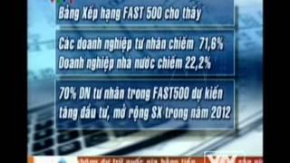 CÔNG BỐ BXH FAST500 - 2012