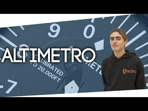 Altimetro aeronautico: come funziona [Lez.12]