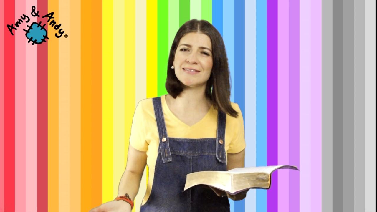 """""""SERÁS BENDICIÓN"""" Devociones cristianos para niños. Amy & Andy. Miss Nat."""