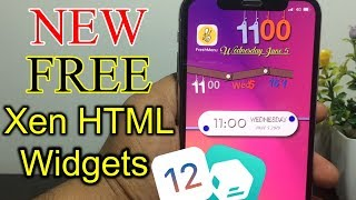 Top 10 Beautiful Free Widgets For XenHTML (iOS 11 2 11 3 1