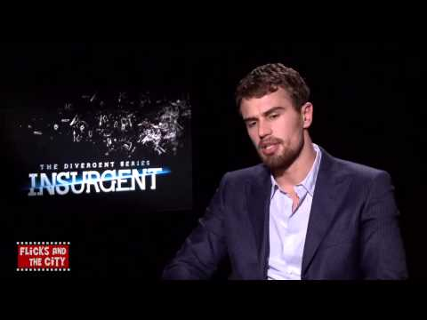 Theo James para Flicks and The City - Legendado | MTW